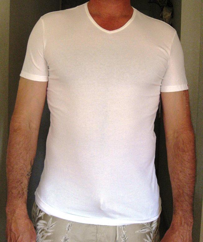 Mens Slimming Undershirt
