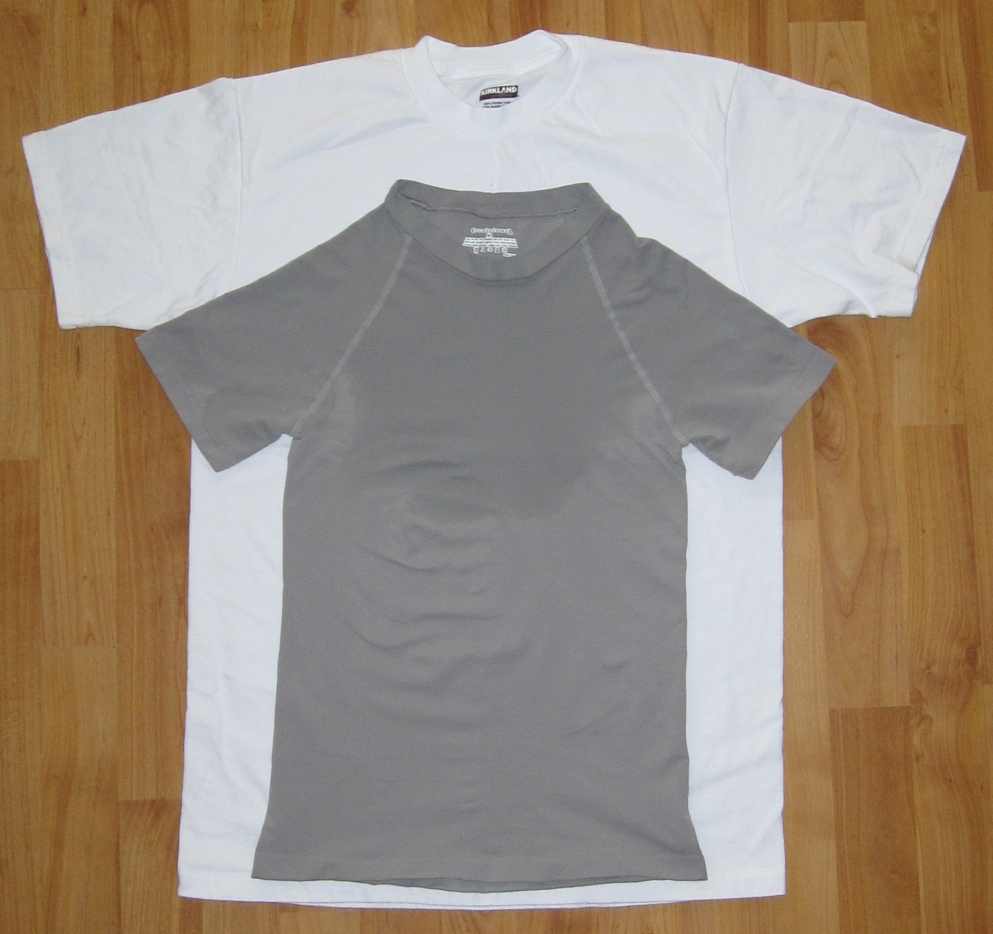 Kirkland black t shirts xl - Undershirt Review Sculptees T Slim Crew Neck Undershirt