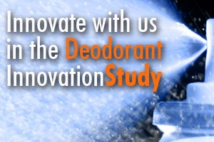 deodorant innovation study
