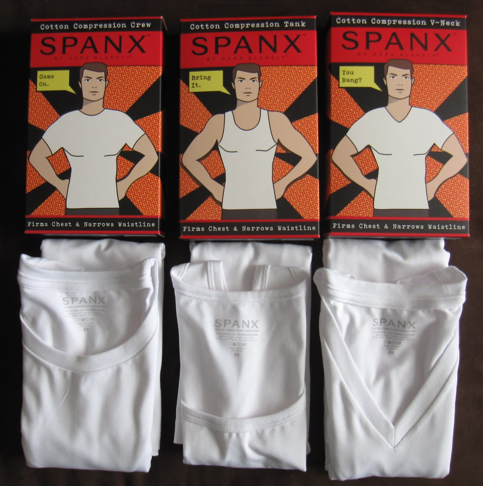 9d76fec373cbe8 Cotton Compression Undershirt Review  Spanx for Men
