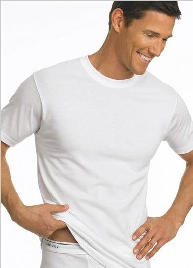 Undershirt Review Jockey Classic Streamlined Fit T Shirt