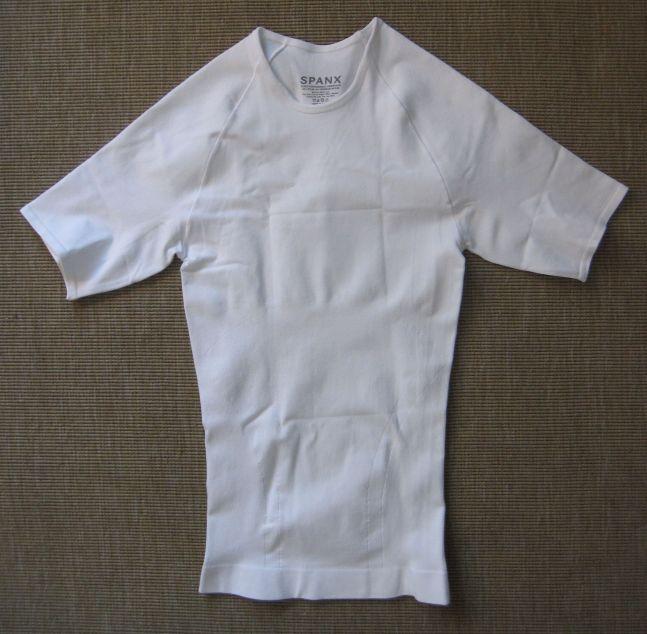 zoned performance undershirt white