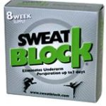 SweatBlock Stops Excessive Underarm Sweating for up to 7 Days