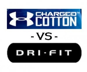Under Armour Charged Cotton Vs Nike Dri-Fit