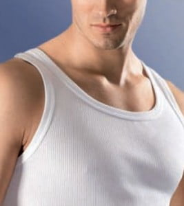 Ceceba Double-Rib Tank Top Undershirt
