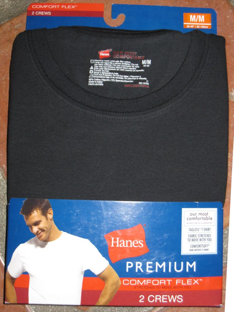 Hanes Comfort Flex Stretch Cotton Undershirt New Or Old