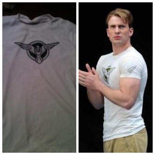 captain america ssr shirt