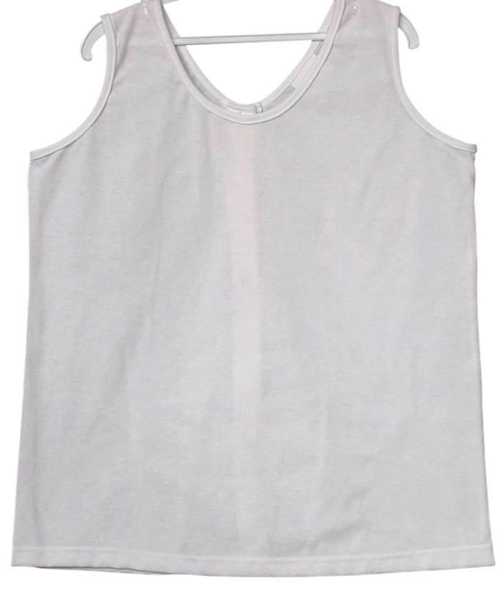 sleeveless reversible adaptive undershirt