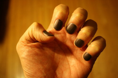 Nail polish for men -- Male polish