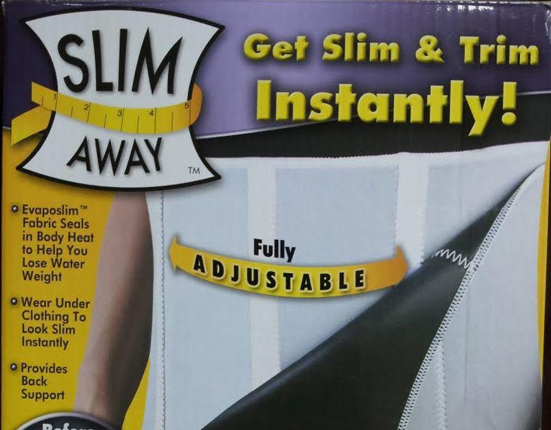 evaposlim slim away belt