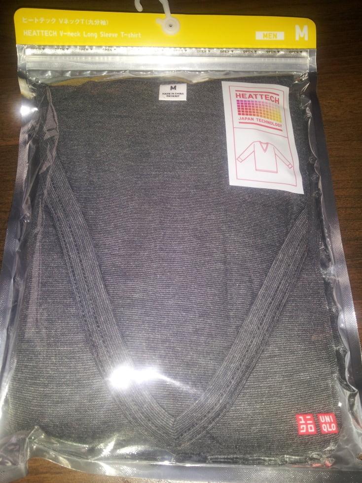Uniqlo Heattech undershirts