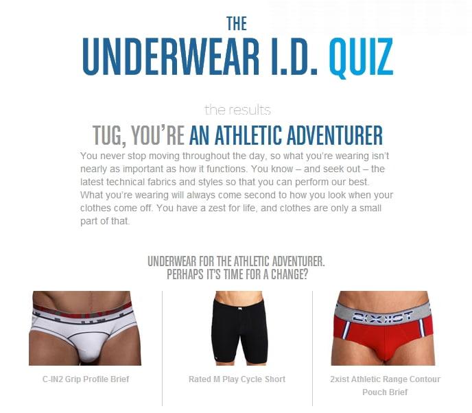 What Style Of Underwear Should You Wear Take The Freshpair Underwear Quiz Today Undershirt