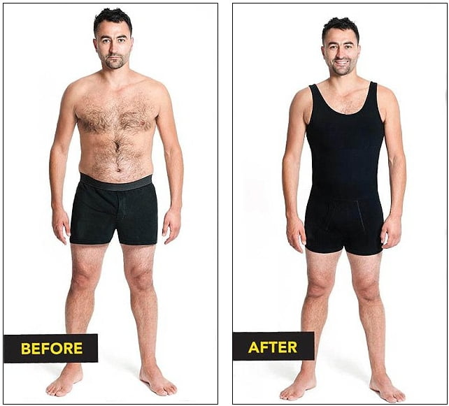 54d17b12bde Body Shaper Before And After