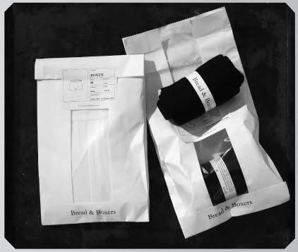 Bread & Boxers packaging