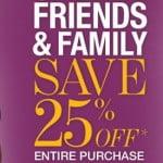BareNecessities.com 25% OFF Friends & Family Sale. Wednesday October 3rd.