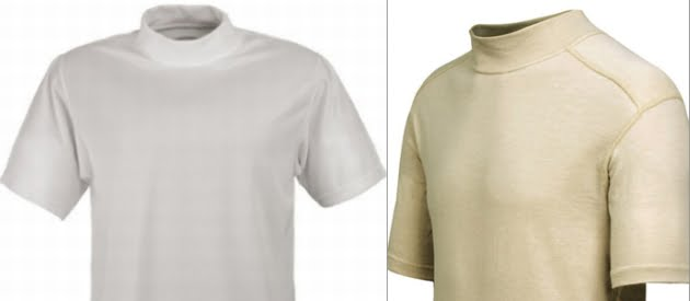 In Search Of Mock Neck T Shirts Undershirt Guy Blog