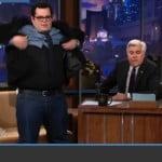 """Josh Gad Wearing Spanx to White House Screening of """"1600 Penn"""""""