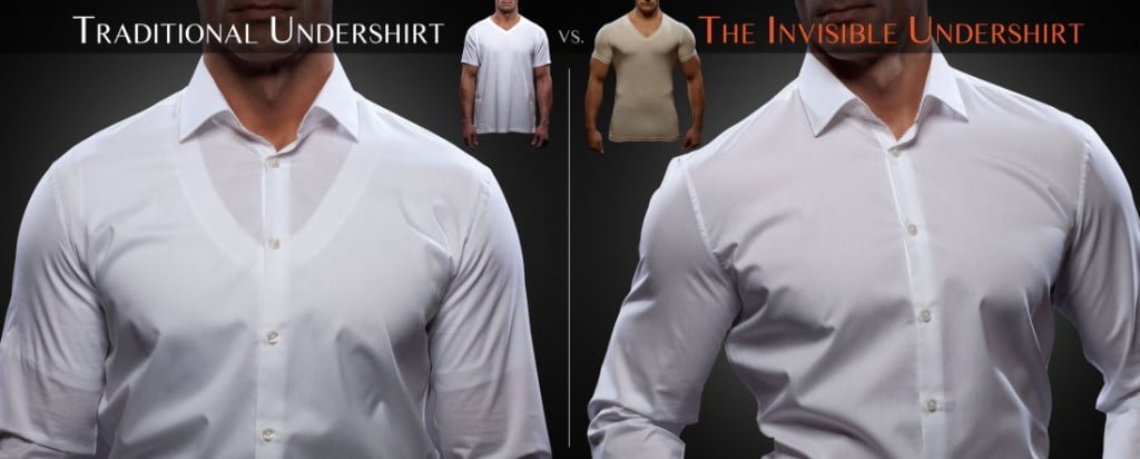 How To Avoid Having Your Undershirt Visible Under Light Colored ...