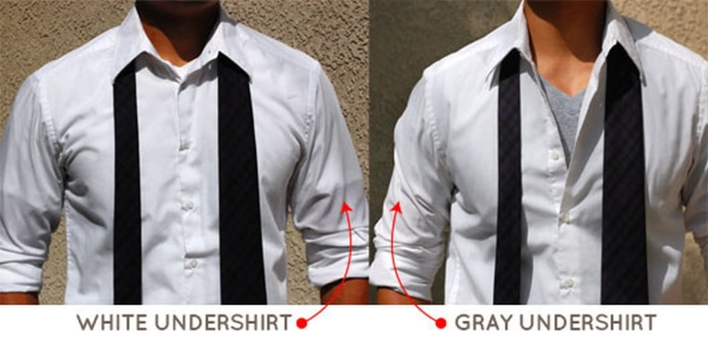 how to clean white undershirts