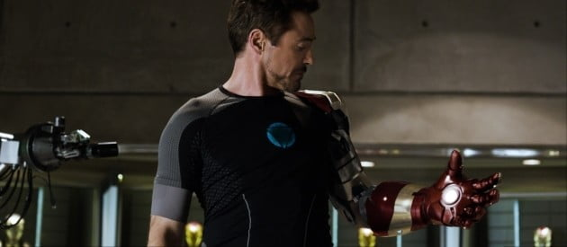 What Compression Shirt Was Tony Stark Wearing In Iron Man 3?