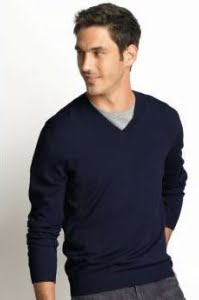 33a3ea4521 Which Style Undershirt Should You Wear Under a V-Neck Sweater