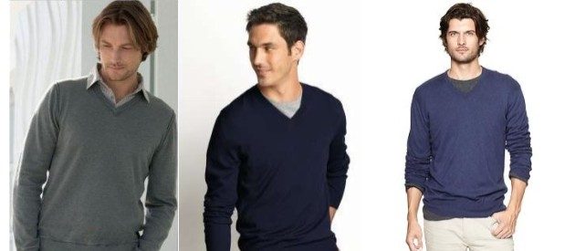 Best Style Undershirt To Wear Under A V-Neck Sweater