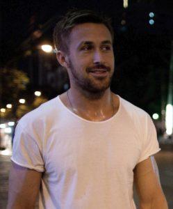 Ryan Gosling White T Shirt: Only God Forgives Close Up