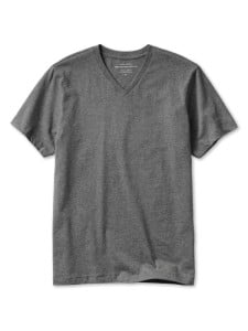 Banana Republic Heather Grey V-Neck Undershirt