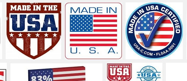 made in USA undershirts