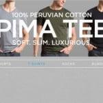 Mack Weldon Launches Pima Cotton T-Shirt