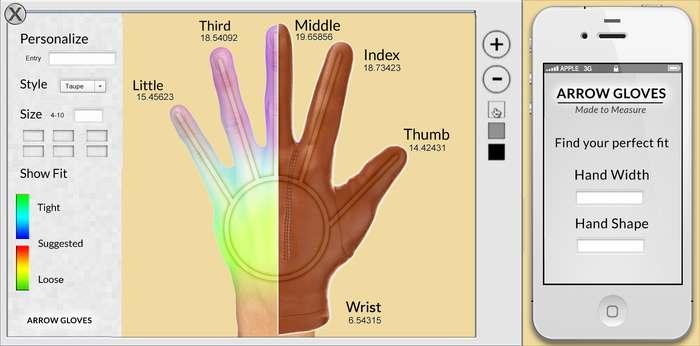 arrow-gloves-photo-recognition-platform
