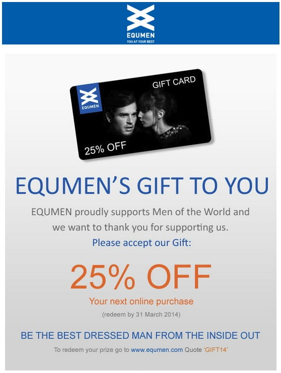 equmen-25-percent-off-gift-card-redeem-by-march-31-2014