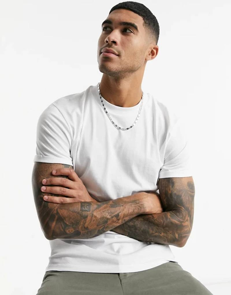 Asos rolled sleeve t-shirt