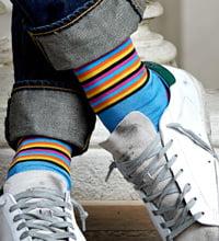 black-socks-collaborates-with-musician-Philipp Fankhauser