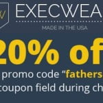 Father's Day: Get 20% Off At Execwear