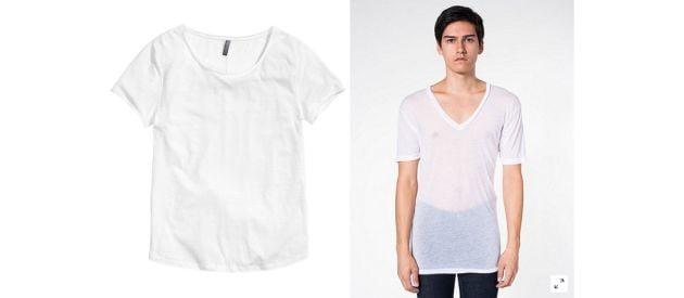 Semi See-Through Sheer Undershirt?
