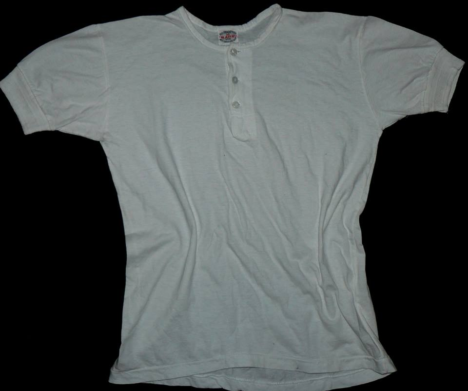 The original and authentic Vintage Henley Undershirt, worn by Brad Pitt, in The Curious Case of Benjamin Button is now for sale. For a mere $, you too can own (and possibly wear) the exact Henley Undershirt donned by Brad Pitt in the movie.