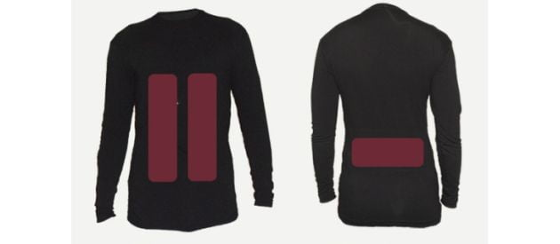 Stay Warm This Winter: Flame Base Layer (Indiegogo)