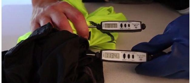 The IAMMAI Cooling Shirt vs Nike: Heat Test (Video)