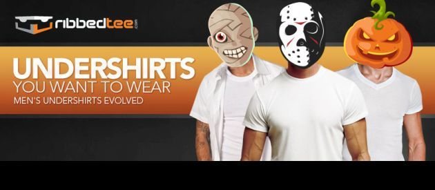 RibbedTee 30% Off Halloween Special Offer