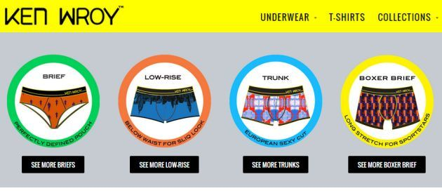 Ken Wroy Underwear & T-Shirts Special Offer (25% OFF Coupon)