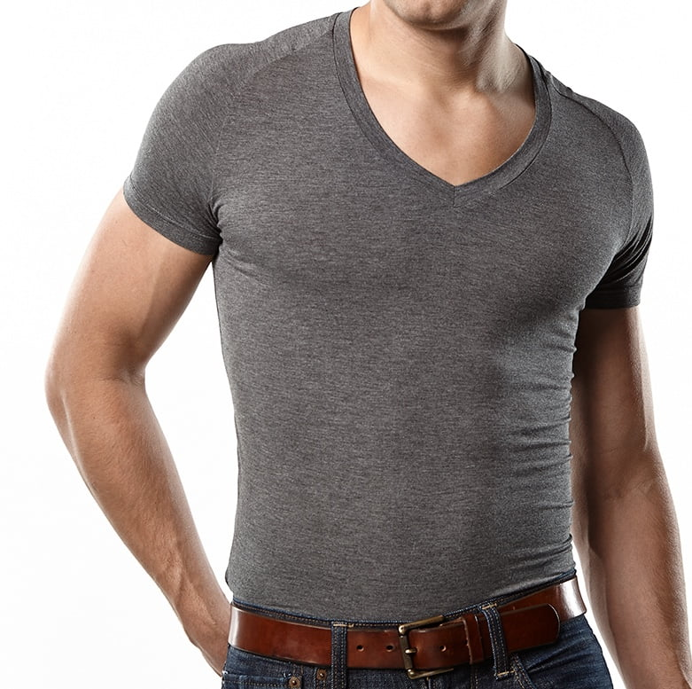 Aug 01,  · Gents - I'm looking for undershirts that don't show through too much when wearing a white dress shirt, and aren't ridiculously expensive. It seems to me like I probably want v-neck tees for underarm coverage without the shirt showing through when I wear my dress shirt unbuttoned and without a tie, which is often.