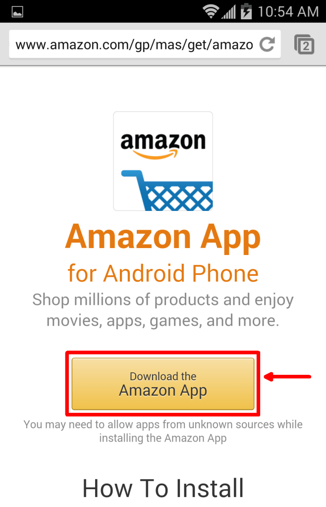 If you want to chromecast Amazon Prime videos, you should first visit the amazon app download page.
