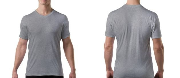 Thompson Tee Heather Grey Sweat-Through Resistant Undershirts + Site Wide Sale!