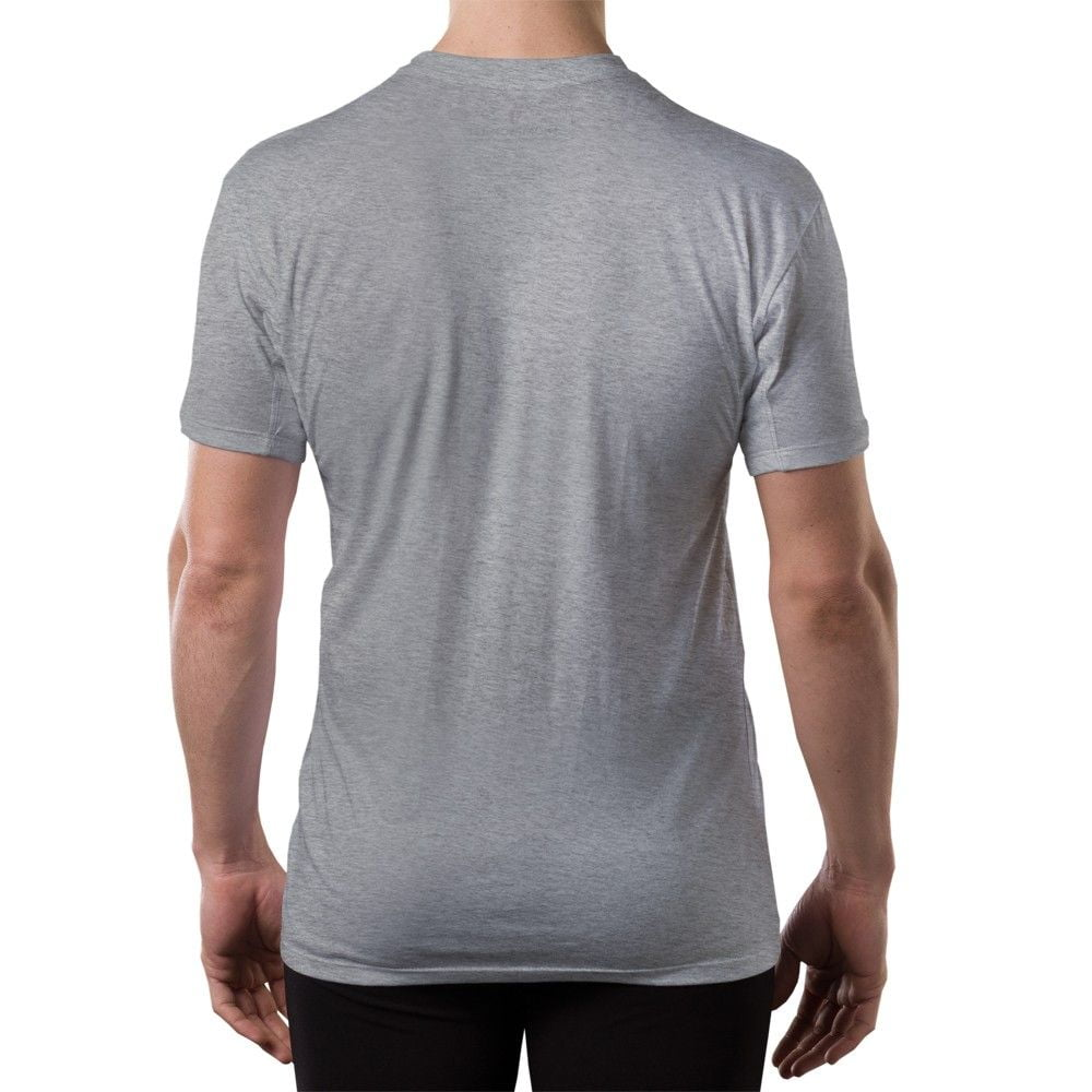 5 Rules for Choosing the Perfect Undershirt. By Kyle Ingham | May contain affiliate links (What's this?) Share. Tweet. Pin. crew neck, v-neck, and tank top. I have several gray vneck undershirts from them and have been very happy with them. I also have a long sleeved crew neck undershirt that is so soft and comfortable that although it.