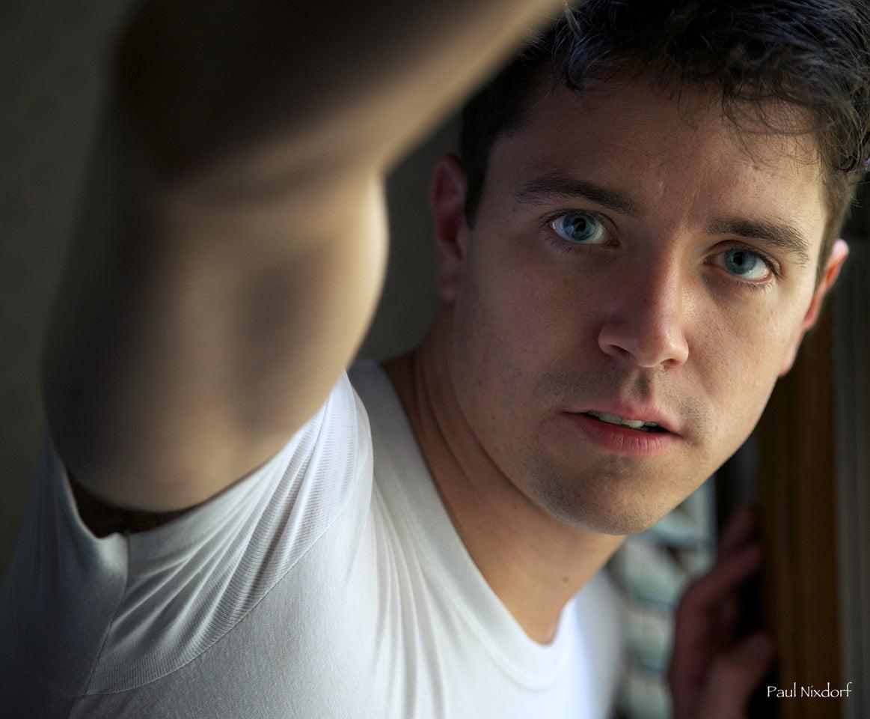 hanes-white-crew-neck-t-shirt-close-up