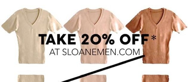 Sloane Men 20% Off Discount Offer (Coupon)