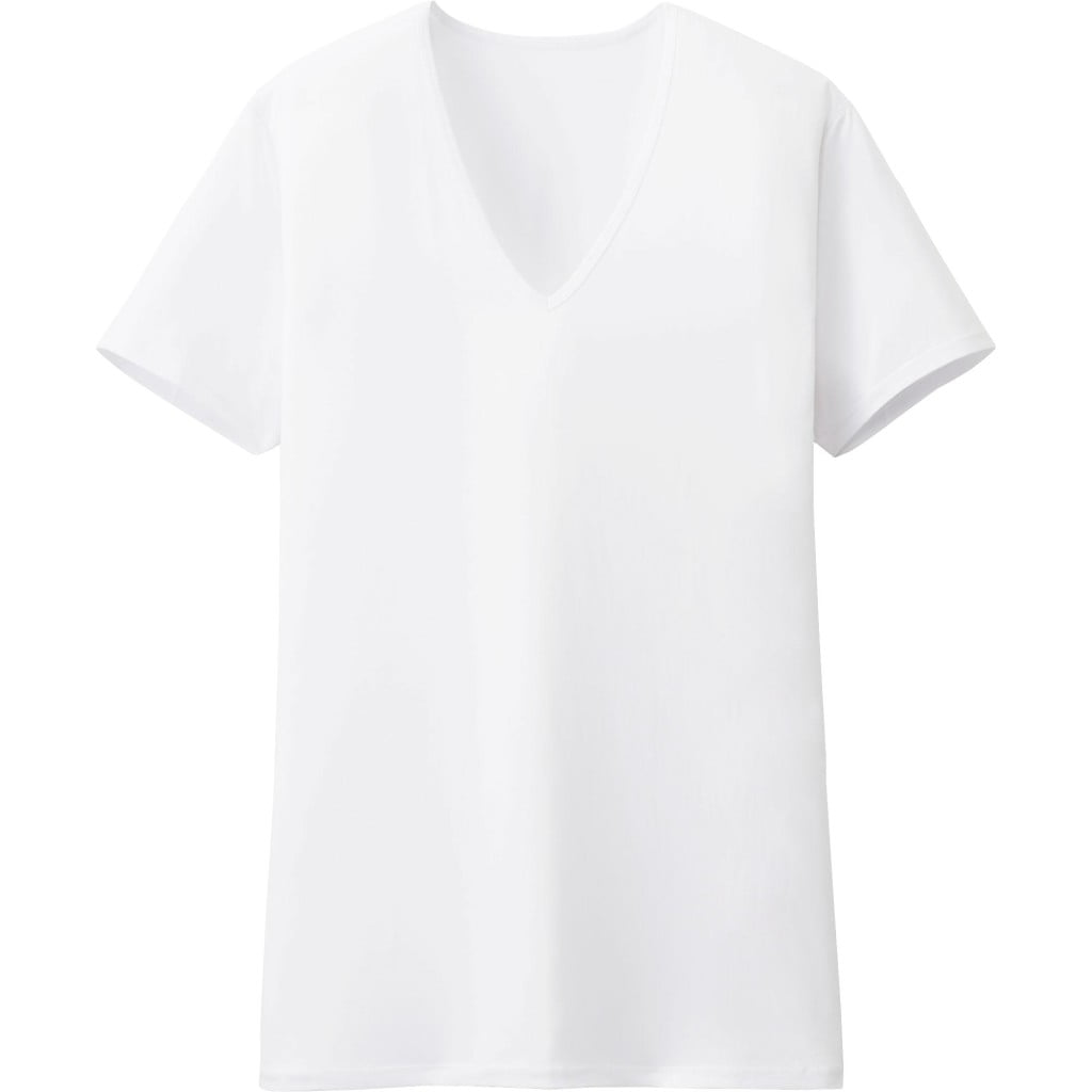 uniqlo-airism-white-v-neck-undershirt
