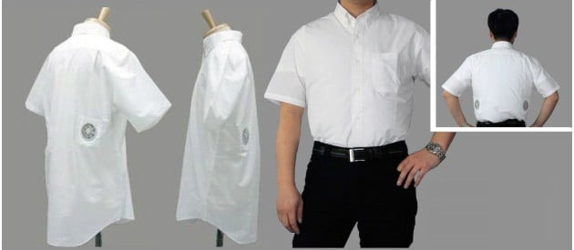 Japanese Air Conditioned Short Sleeve Work Shirt
