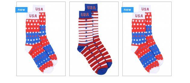 Tipsy Elves: Star Spangled Socks
